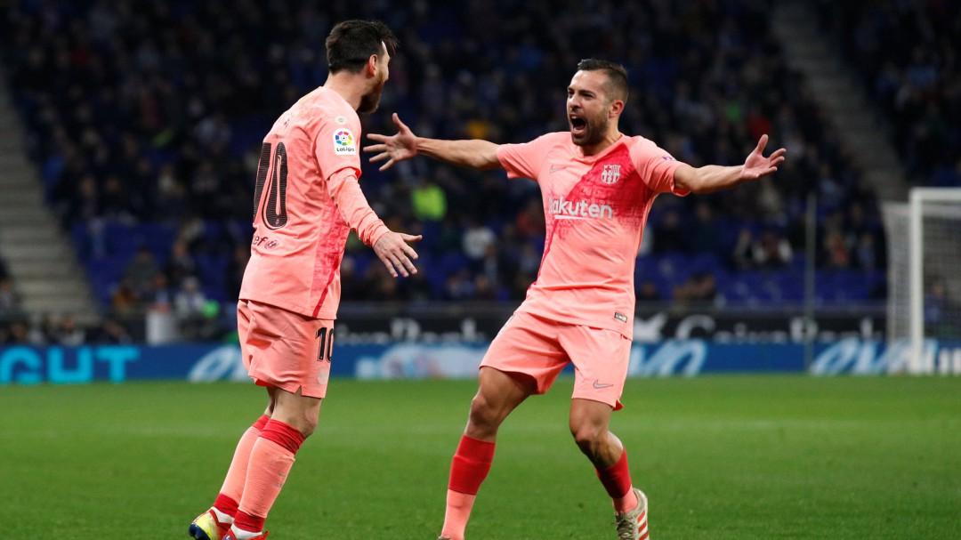 """Jordi Alba, sobre el Balón de Oro: """"Es una mentira, todo el mundo sabe que Messi es el mejor del mundo"""""""