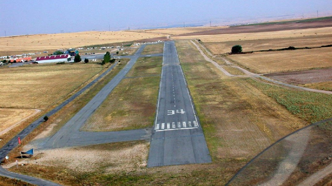 Fallece en un accidente el jefe de vuelos del aeródromo de Fuentemilanos