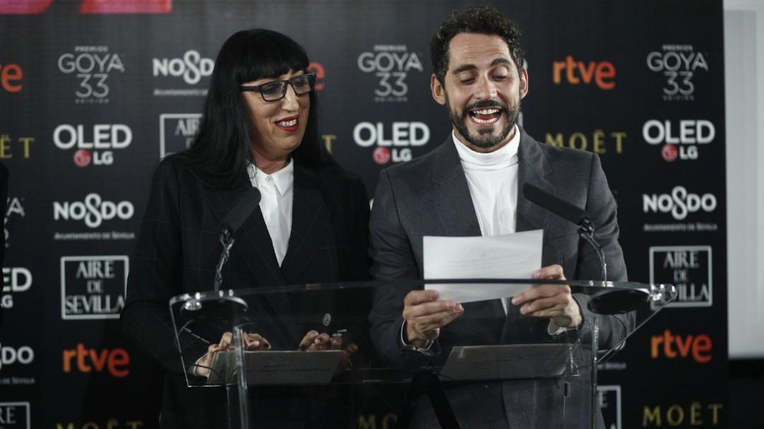 'El reino', con 13 nominaciones, y 'Campeones', 11, favoritas para los Goya